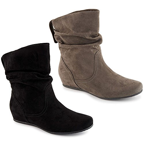 XAPPEAL Womens Carney Shin High Slouch Boot Shoes Home