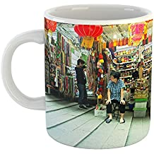 Westlake Art - Shop Stairway - 11oz Coffee Cup Mug - Modern Picture Photography Artwork Home Office Birthday Gift - 11 Ounce (147F-89B5C)