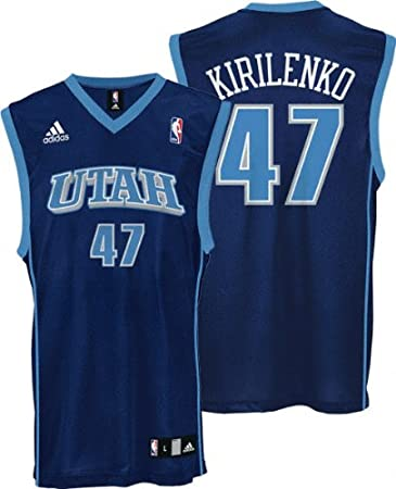 new concept d9374 64631 Amazon.com : Andrei Kirilenko Youth Jersey: adidas Blue ...
