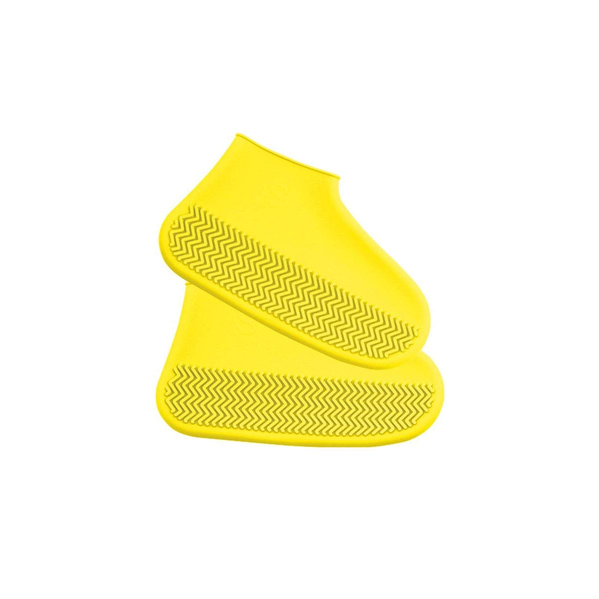 WUHUIZHENJINGXIAOBU Silicone Shoe Cover, Waterproof Rainy Day Thick Non-Slip wear-Resistant rain Boots, Men and Women Outdoor Rubber Latex into Shoe Covers That can be Worn on Rainy Days, by WUHUIZHENJINGXIAOBU