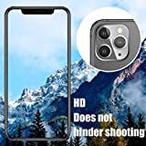 [ 3 Pack] UniqueMe Camera Lens Protector for iPhone 11 Pro/Apple iPhone 11 Pro Max Tempered Glass [New Version] Add Cameras Flash Circle