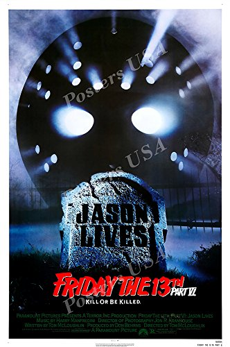 Posters USA Friday the 13th Part VI Kill or be Killed GLOSSY