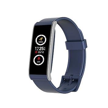 MyKronoz Reloj Inteligente ZeFit 4 HR con Sensor cardiaco Azul: Amazon.es: Electrónica