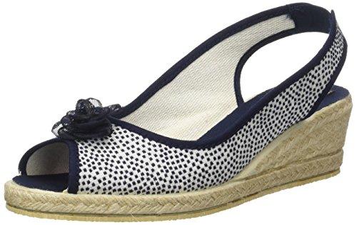 Zapatos azules de punta abierta formales Rondinaud para mujer tpYWCGR8