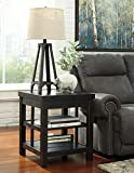 Cheap Gavelstony Rubbed Black Square End Table