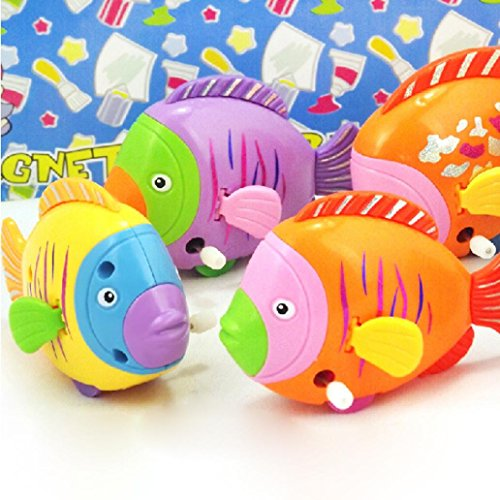 OVERMAL Chain On The Discus Fish Tail Moving ChildrenTake A bath Toy