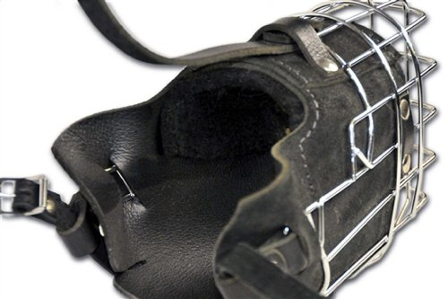Dean and Tyler DT Freedom Winter Fully Padded Muzzle, Size No. 2 - Medium German Shepherd by Dean & Tyler (Image #2)