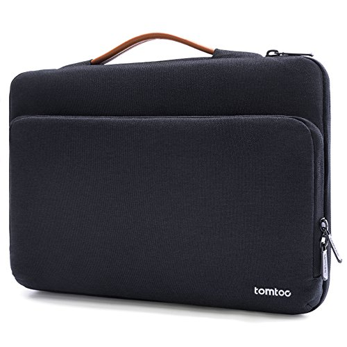 Tomtoc 13 - 13.5 Inch Laptop Sleeve Case for Macbook Air | MacBook Pro Retina 2012-2015 | Microsoft Surface Book 2 2017, 360°Protective Laptop Bag for 13
