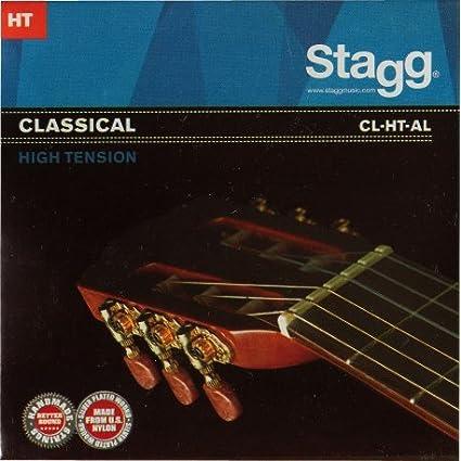 Real Juego de acordes de guitarra clásica stagg cl-ht-A: Amazon.es ...
