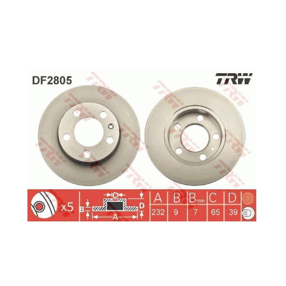 TRW Automotive AfterMarket DF2805 disco de freno