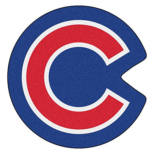 FANMATS MLB Mascot Area Rug, Chicago Cubs, Approx. - Tufted Rug Chicago Cubs Mlb