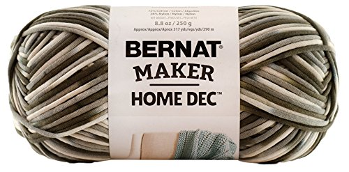 Bernat Maker Home Dec Yarn, 8.8oz, Guage 5 Bulky Chunky, Pebble Beach Varg