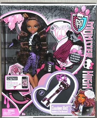 Mattel Monster High Poupees Mannequins Clawdeen Wolf Fete D Anniversaire Amazon Fr Jeux Et Jouets