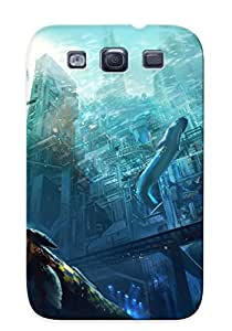 (fDWhxUo86aQTmj)durable Protection Case Cover With Design For Galaxy S3(underwater Megalopolis)
