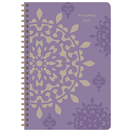 At-A-Glance Weekly and Monthly Planner 2016, Vienna, Wire Bound, 5.5 x 8.5 Inches Page Size (622-200-16)