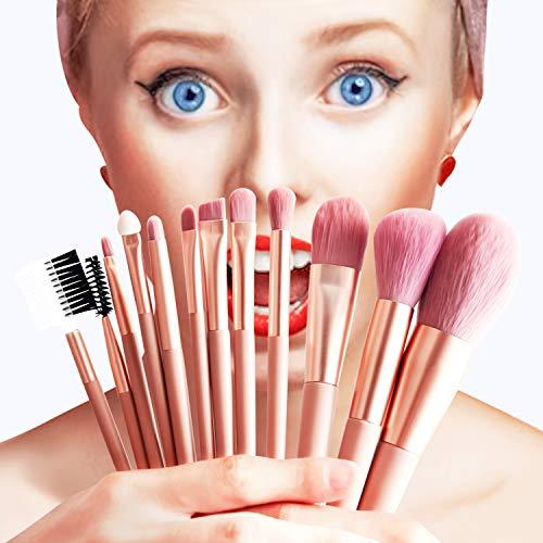 Makeup Brush Set Premium Professional Face Foundation Brush Face Powder Brush Brush Blush Detail Eyeshadow Brush Eyebrow…