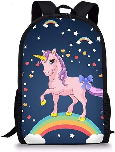 Cute Stylish Colorful Lightweight Backpack Bookbag