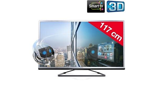 PHILIPS 46PFL4508H/12 - Televisor LED 3D Smart TV + Kit de limpieza SVC1116/10: Amazon.es: Electrónica