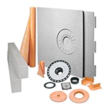 Schluter Systems 32-in x 60-in Kerdi-Shower Kit with Offset Drain