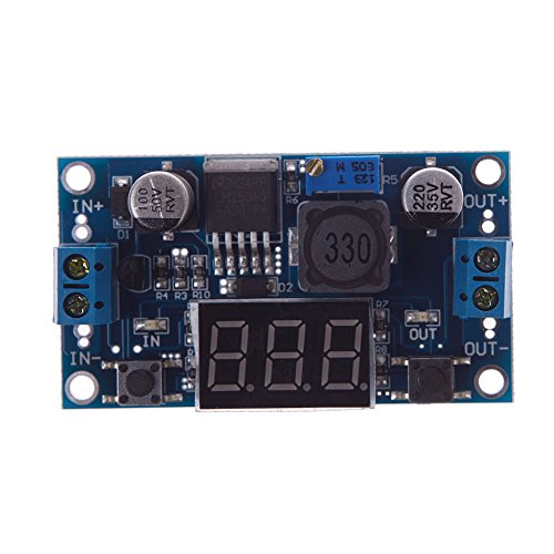 New LM2596 Step-down Power Module DC 4.0~40 to 1.3-37V With Voltage Display