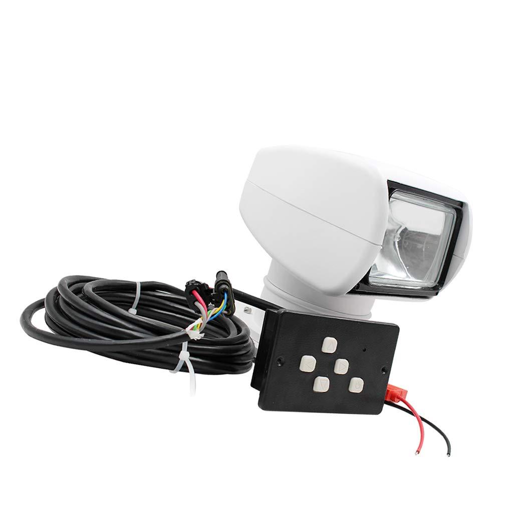 Baosity 12V 100W Boat Remote Remote Remote Control Spotlight