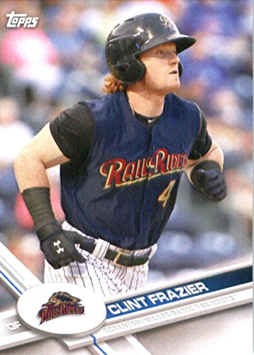 2017 Topps Pro Debut #174 Clint Frazier Scranton/Wilkes-Barre RailRiders Baseball Card