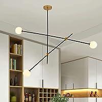 Lingkai Moderno Iluminación de techo metal de la vendimia luz de techo creativo Retro 3…