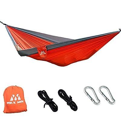 Ultra Light Portable Parachute Camping Double Hammock