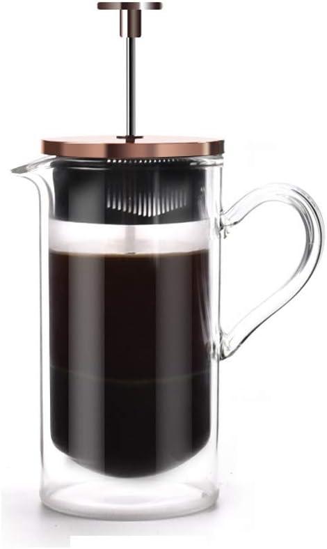 Método Simple de presión Olla de café cafetera Doble de ...