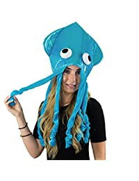 U Pick Your Color - Beautiful Oversized Squid Hat - Funny Party Hats TM