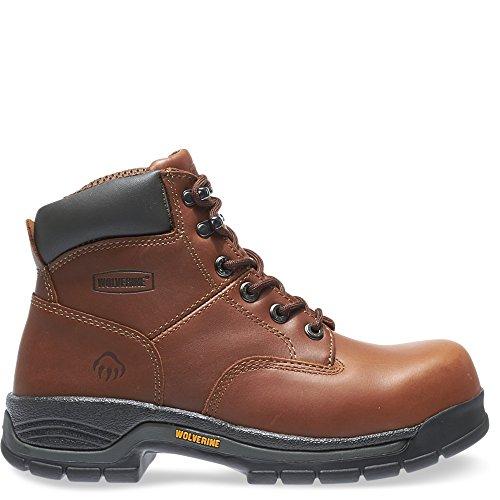 Wolverine Men's Harrison W04904 Work Boot,Brown Leather,14 M US