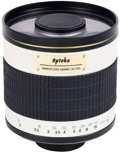 Opteka 500mm / f/6.3 for Nikon D4, D3x, Df, D810, D800, D750, D610, D7000, D5100, D3200, D3100 and D3000 Digital SLR