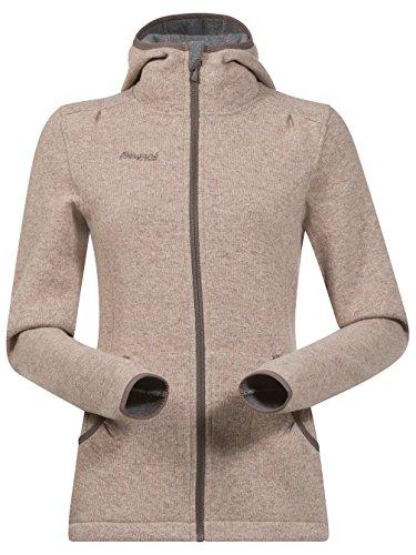 Bergans Klokkelyng Lady Jacket - Kapuzenjacke mit Wollanteil Sand Mel wrwFWOB1