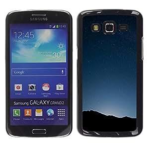 Be Good Phone Accessory // Dura Cáscara cubierta Protectora Caso Carcasa Funda de Protección para Samsung Galaxy Grand 2 SM-G7102 SM-G7105 // Space Planet Galaxy Stars 34