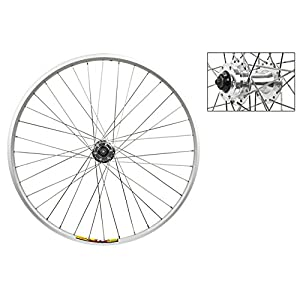 "Wheel Master Front Wheel 26"" x 1.5"", Double Wall, Quick Release, 36H, All Silver"
