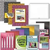 Cricut BrightPad with Vinyl, Iron-On, Tool Kit & Digital Book-Beginner Bundle