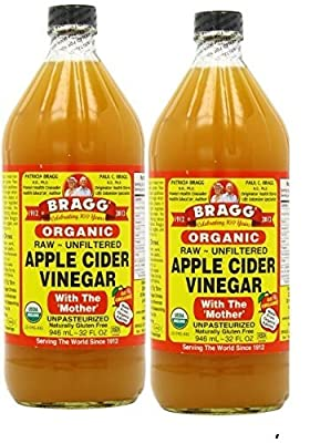 Bragg Apple Cider Vinegar 32 Oz X 2 Btls by Bragg