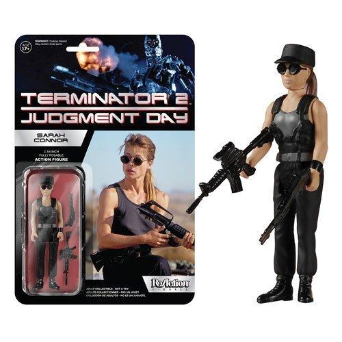 Terminator 2 Sarah Connor ReAction 3 3 4Inch Retro Action Figure by Terminator