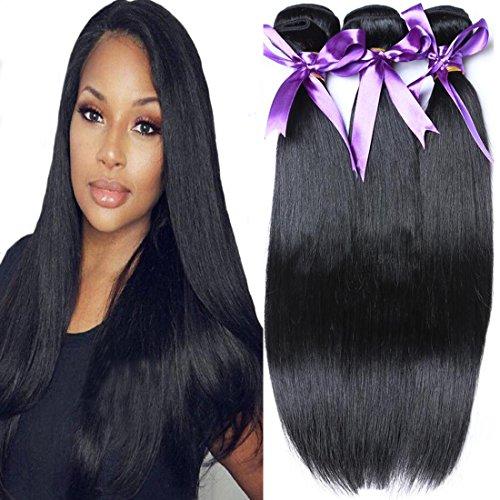 Cranberry Hair Brazilian Virgin Straight Hair Bundle 100% Unprocessed Human Hair Extention Nature Color 100G/Bundle