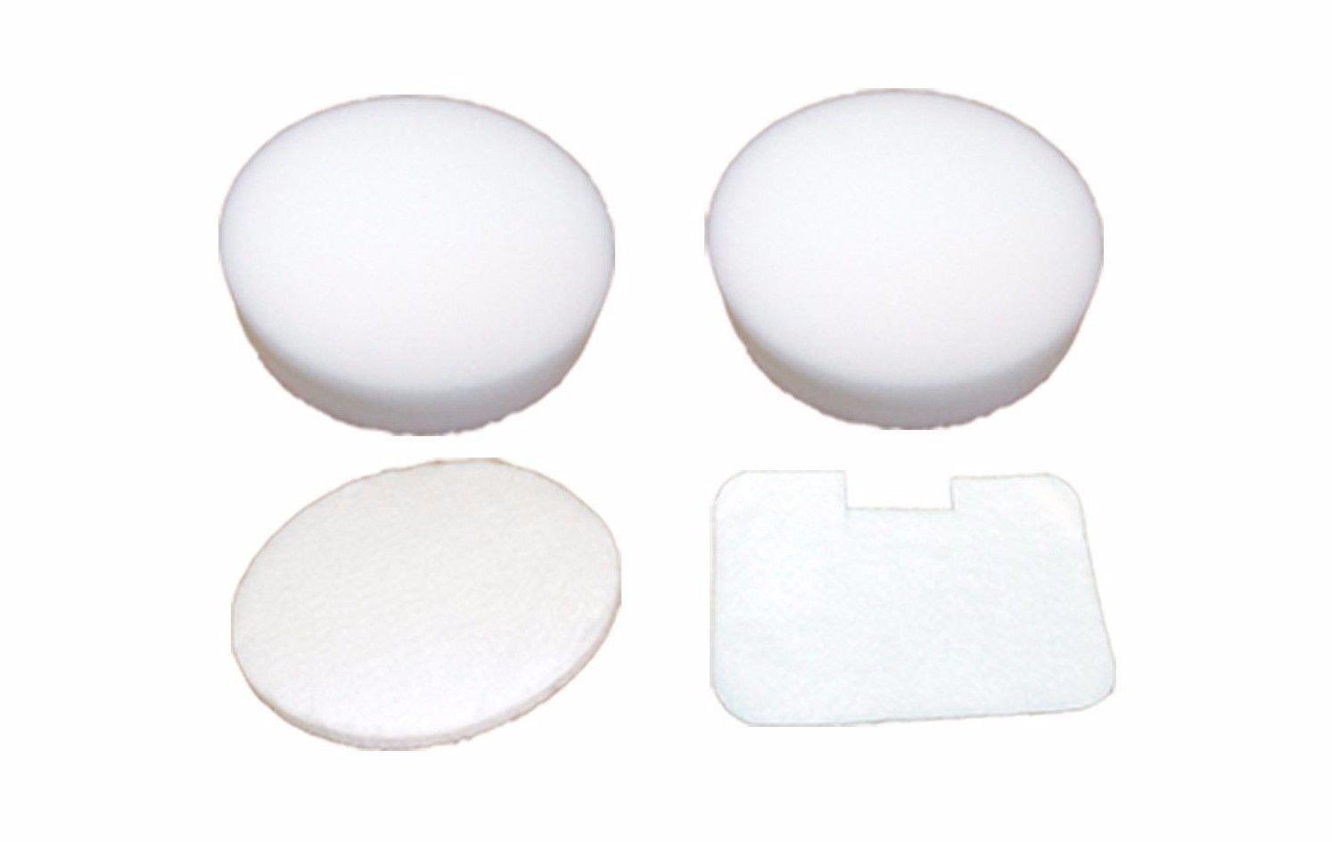 EnviroCare Replacement Allergen Filters for Shark NV22L Navigator Uprights. 4 Piece Foam and Felt Filter Kit
