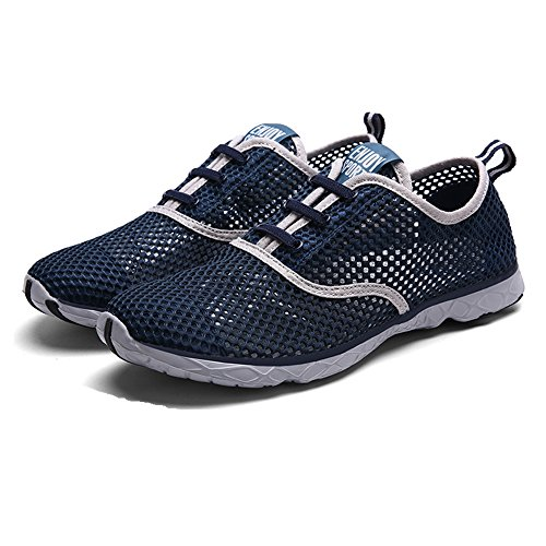 Quicksilk Männer schnell trocknende Aqua Water Schuhe Marine