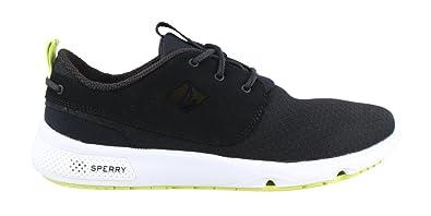 SPERRY Men's, Fathom Boat Lace up Shoes Black ...