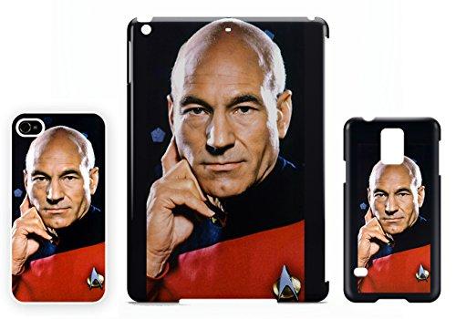 Jean Luc Picard Star Trek TNG Patrick Stewart iPhone 7 cellulaire cas coque de téléphone cas, couverture de téléphone portable