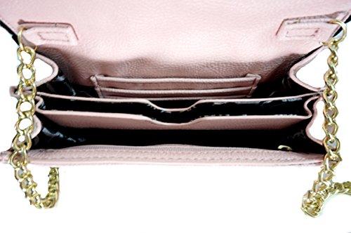 Betsey Johnson, Borsa a spalla donna rosa Pink