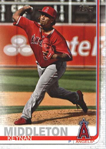 2019 Topps #563 Keynan Middleton Los Angeles Angels Baseball Card