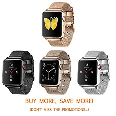 LWCUS Apple iWatch Bands for Apple watch Series 3,2,1, Hermes, Edition, Sport, Multiple Styles/Colors Apple Watch Accessories