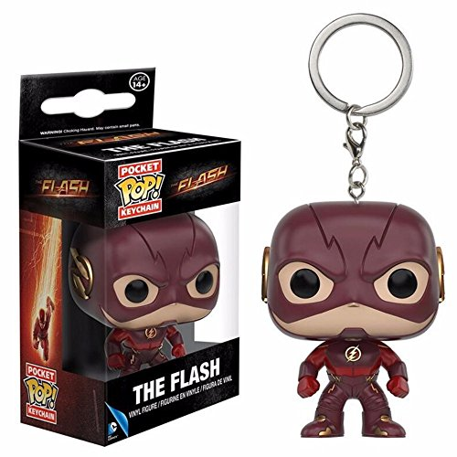 The Flash Chaveiro Keychain Mini Boneco Pop Funko