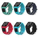 Chofit Repalcement Band for TOMTOM Runner / MultiSport / Golfer Silicone Sport Bands Strap Bracelets Wristband Accessory for TomTom Runner / MultiSport / Golfer Watch