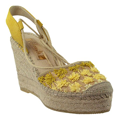 Vidorreta Women's Fashion Sandals yellow yellow Yellow