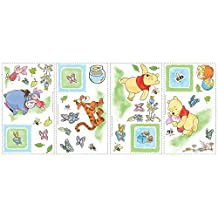 RoomMates RMK1630SCS Winnie the Pooh Toddler Peel and Stick Wall Decals